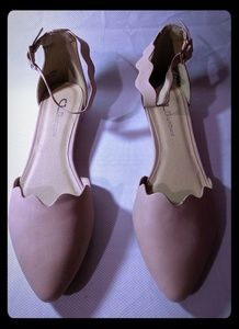 Chinese Laundry Flat Leather - Dusty Pink 8.5